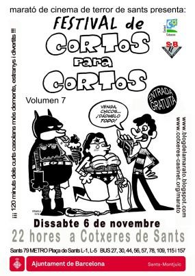 Festival de Cortos para Cortos vol.7