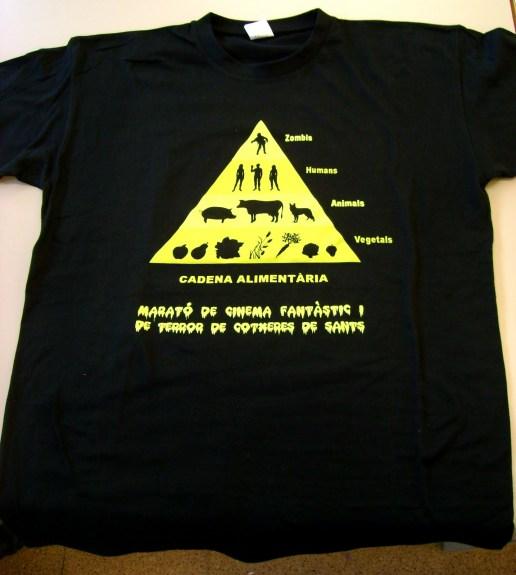"Camiseta ""más ponible"" Marató de Cotxeres 2010"