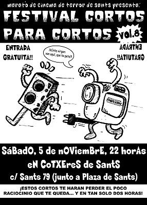 Cartel Cortos para Cortos v. 8