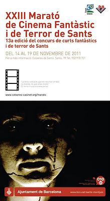 XXIII Marató de Cine Fantàstic i Terror Cotxeres de Sants